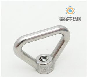 不锈钢环形螺母